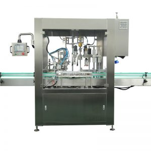 Automatisk påfyldnings- og kapningsmaskine til dråbeflaske
