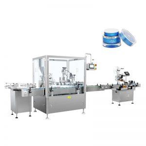 Automatisk fyldnings- og afdækningsmaskine til lotion