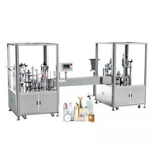 Automatisk parfumeudfyldnings- og kapningsmaskine