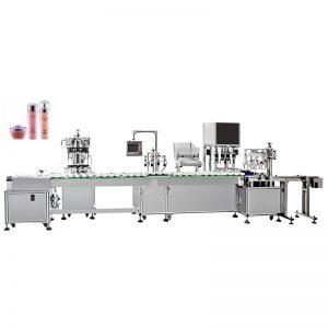 Automatisk vandemulsionspåfyldnings- og afdækningsmaskine